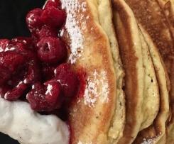 Fluffiest Coconut Pancakes Paleo