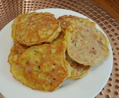 Savoury pikelets for school lunches