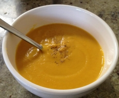 Fructose Friendly Carrot and Ginger Soup