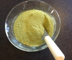 Vegetable stock powder - raw