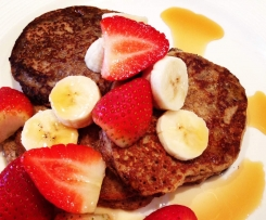 The Shrinking Hubby's Almond Meal Pancakes