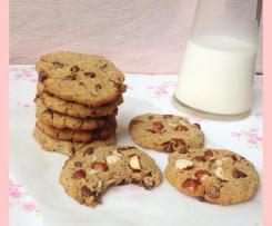 Soft cookies with Okara (low GI)