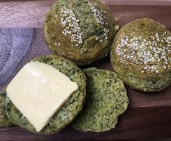 Cheese and spinach scones (Gluten-free, grain-free)