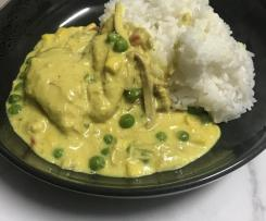 Til's lazy curry chicken
