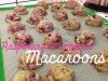 Raspberry & Coconut Macaroons