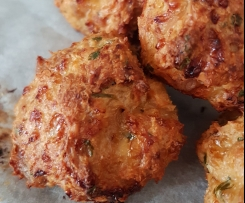 Variation Chicken Parma Balls