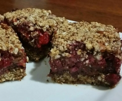 Berry Choc Chunk Bars (Gluten, Dairy and Refined Sugar Free)