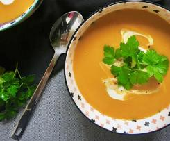 The Best Pumpkin Soup Ever