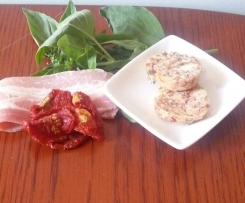 Sundried Tomato, Bacon & Basil Butter