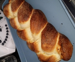 Sugar-Coated Cardamon Braid (Bread)