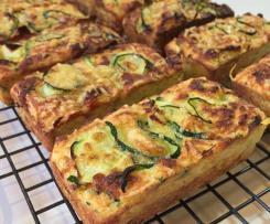 Zucchini Slice - paleo, keto, gluten free