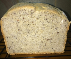 buckwheat Chia Seed Bread with linseed,sesame seeds and poppy seeds
