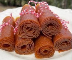 Apricot Roll Ups / Fruit Leathers - @Thermo.Cazza