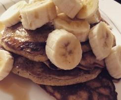 Wholegrain Vanilla Pancakes