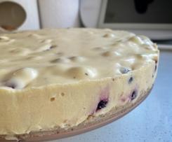 White Chocolate & Berry Cheesecake - Gluten Free
