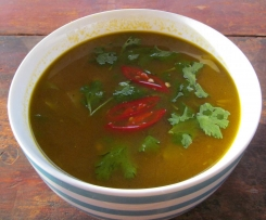 Thai Beef curry soup