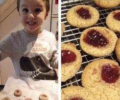 Kids Favourite Jam Biscuits