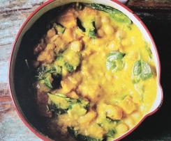 Pumpkin & Chickpea Coconut Curry