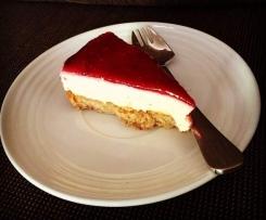 Raspberry Lemon Cheesecake