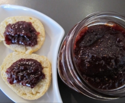 THICK strawberry jam