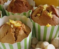 Lemon & Macadamia Cakes (Gluten free)