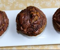 Nutella lava muffins
