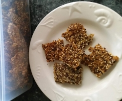 Quinoa & Brown Rice Crackers