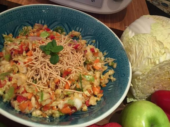 Crunchy Rainbow Salad By Tracey Borazio A Thermomix Supsup