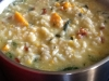 Pumpkin, Sun Dried Tomatoes, Spinach and Feta Risotto.