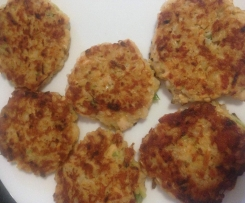 Brown Rice & Salmon Patties