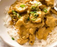 Chicken In Satay Sauce