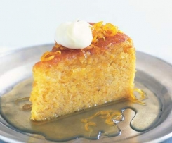 Huldah's Whole Orange Syrup Cake