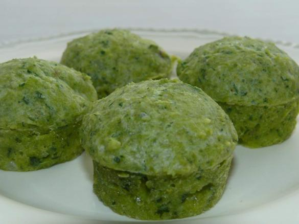 Tasty Cheese Spinach Muffins