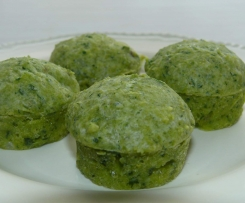 Tasty Cheese & Spinach Muffins