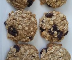 4 ingredient banana orange oat bites