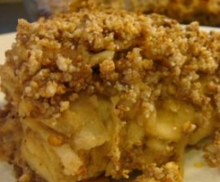 Clean Apple Crumble