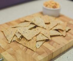 Easy Rice Crackers- Gluten & Dairy free