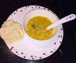 Vegetable & Lentil baby food