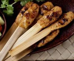 Balinese Sate Be Siap (Chicken Sate sticks)