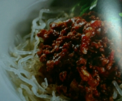 Spaghetti Bolognese - Diabetic Friendly