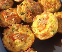 Savoury Vegetable Medley Muffins