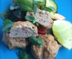 Thai Chicken Cakes GF