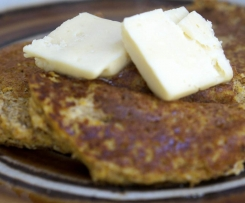 Paleo Pumpkin (or banana) Pancakes (GAPS, Gluten/Grain/Dairy Free)