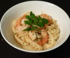 Lemon & Chilli Prawn Linguini