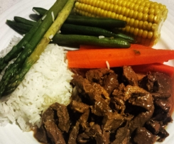 Honey Soy Beef