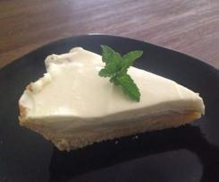 Chewy Base Cheesecake