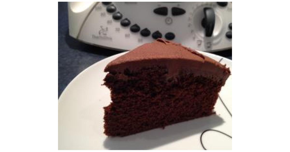 Easy Rich Chocolate Cake By Karen A Thermomix Supsup Recipe