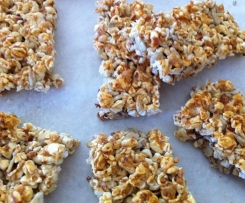 Popcorn & Almond Bars