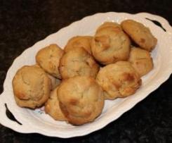 White Choc Chunk & Macadamia Biscuits