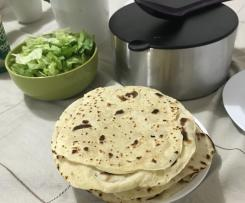 Coconut Oil Flour Tortillas